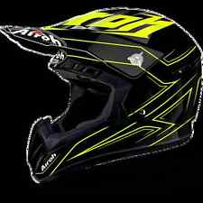 CASCO HELMET OFF ROAD AIROH 2017 SWITCH SPACER YELLOW GLOSS GIALLO LUCIDO MOTO