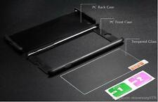 Hybrid 360° Hard Ultra thin Case Tempered Glass Cover For Apple iPhone 5 6 6 + 7
