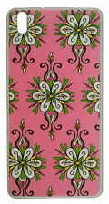 eloMo Soft Metallic Printed Back Cover Case for Reliance JIO LYF Water 5