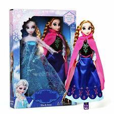 HOT Disney Frozen Princess Toy Elsa Anna Olaf Sven Kristoff Hans Doll Girl Set