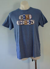 Ben Sherman Mens Printed T Shirt - BLUE - SIZES - L, XL & XXL   - NEW