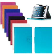 "Universal PU Leather Stand Case Cover For Android Tablet PC 7"" Adjustable Tab UK"