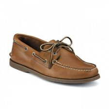 Sperry Top-Sider Authentic Leder - amerikanische Bootsschuhe Sahara in hellbraun