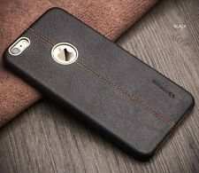 "Vorson For ""Apple iPhone 6/6S"" Double Stitch Leather Shell Back Case Cover"