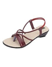Azores Maroon  Wedges