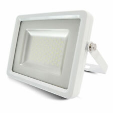 10W LED Floodlight Ultra Slim Outdoor Garden Security Lamp IP65 SMD White