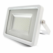 100W LED Floodlight Ultra Slim Outdoor Garden Security Lamp IP65 SMD White