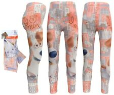The Secret Life of Pets Girls Leggings 2-8 Years New with Tags