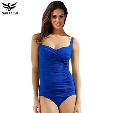 One Piece Swimsuit Plus Size Swimwear Women Summer Beachwear Push Up Bathing Sui