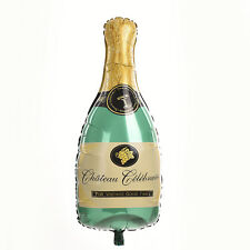 Champagne Balloons Wine Bottle and Cup Balloon for Company Anniversary 1 Pcs ~