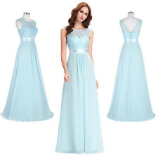 Women Evening Prom Gown Ball Cocktail Party Chiffon Formal Bridesmaid Dress Long