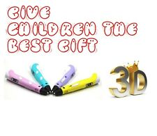 Intelligent 3D Printing Pen, 3D Doodle Arts & Crafts making using ABS and PLA