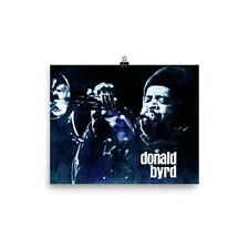 Donald Byrd   Places And Spaces Jazz Poster Print