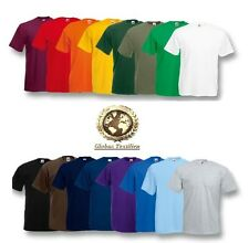 *10er PACK* FRUIT OF THE LOOM T-SHIRT HERREN T-SHIRTS GR. S-M-L-XL-XXL-3XL