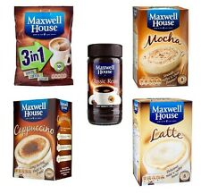 Maxwell House Cappuccino Coffee , Classic Mocha , Latte , 3 IN 1 Hot drink