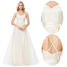 Formal Wedding Bridesmaid Wedding Evening Prom Party Gowns Ball Pageant Dresses