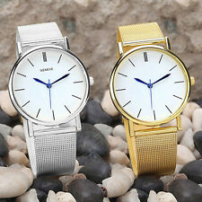 Fashion Geneve Women Lady Watch Stainless Steel Analog Quartz Wrist Watch Lofty