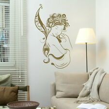 PRETTY FAIRY NICE WALL GRAPHIC TRANSFER DECAL WING giant tattoo picture FA2