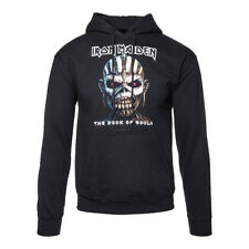 Official Hoodie IRON MAIDEN Black BOOK OF SOULS Band Hooded Top All Sizes