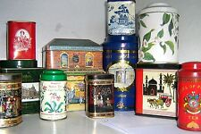COLLECTOR's EARLY TEA TINS 1960/2000 ~ click - Select - to browse or order