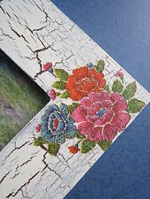 Handmade  PICTURE PHOTO FRAMES  WOODEN  Frame  hand-painted