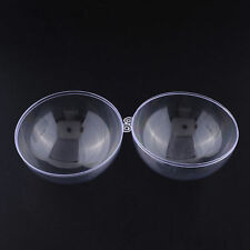 LUXURIOUS BATH BOMB MOULD / MOLD - 6 Different Sizes - Clear Plastic Mold