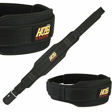 GYM WEIGHT LIFTING BELT BODY BUILDING EXERCISE DOUBLE BACK SUPPORT FITNESS BELT