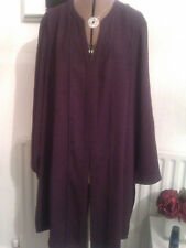 Ann Harvey size 24 gorgeous plum long jacket