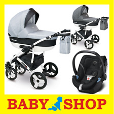 CAMARELO Carera New 3in1 stroller kinderwagen pushchair car seat and adapters