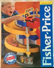 Fisher-Price 1996 Toy Catalog for Dealers