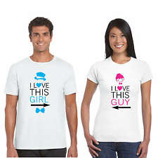 Giftsmate Love this Guy and Girl Couple Tshirts for Men and Women_Cotton
