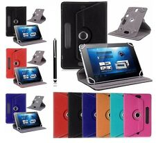 """Universal Folio PU Leather Flip Case Cover For Android Tablet 7"""" 8"""" 9"""" 9.7"""" 10"""""""