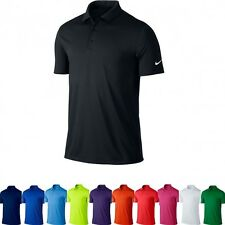 Nike NK251 Mens Victory Solid Dri-Fit Golf Polo Shirt MANY COLOURS
