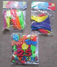"""Pack of Quality Punchball Neon or 24"""" Giant Retro, Kids Party Balloons"""