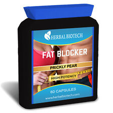 HerbalBioTech Fat Blocker 60 Capsules Prickly Pear High Strength Weight Loss
