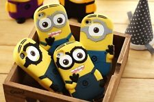 Heartly Cute Cartoon Minion Soft Rubber Silicone Best Back Case Cover - Micromax