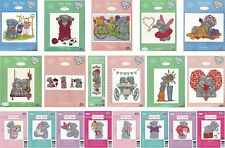 DMC TATTY TEDDY ME TO YOU OURS POINT DE CROIX KITS COLLECTION 2015