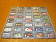 Nintendo GBA Games - 40 x GAME BUNDLE- Select From List - Game Boy Advance Games