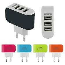 MICRO USB CABLE / 3 PORTS WALL CHARGER