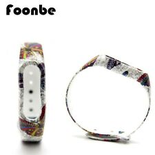 FOONBE For Xiaomi Mi Band 2 Butterfly Silicone Strap For Xiaomi 2 Bracelet Smart
