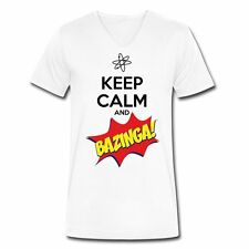 The Big Bang Theory Bazinga Herren T-Shirt von Spreadshirt®