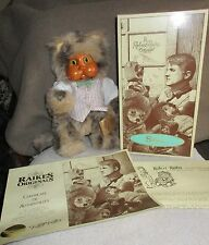 Robert Raikes Signed Sidney First Edition Cats 1992 With COA