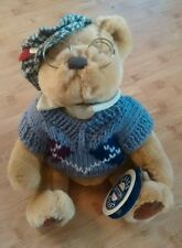1996 Pickford Brass Button Bear SHERWOOD Fully Jointed Plush Stuffed Teddy Tags