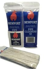 Newport Pipe Cleaner 15 cm Long Craft Tobacco Pipe Cleaner Clean White Sticks