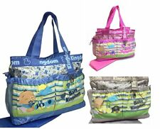 Cute Baby Nappy Changing Diaper Hospital Bag 3 Designs Waterproof Large Size 388