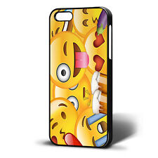 Imoji smiley faces cool/funky case/cover for iphone 4/4s 5/5s 5c 6/6plus 7