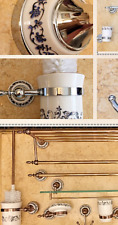 Antique Brass Ceramic Base Wall Mounted Chrome Rose Gold Bathroom Accessories