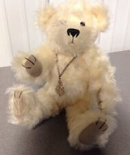 Deans Rag book Mohair Teddy Bear MINT! WHITE! FAST FREE SHIP LIMITED EDITION 257