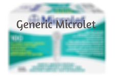 Bayer Microlet Generic   Lancets - 100 BX