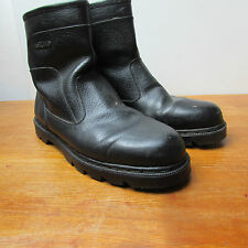 Frost Bite Mens Work Boots Size 11 Black Leather..Good Boots...